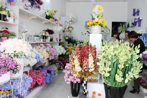 Vận chuyển gửi hoa giả lịch tết đi Úc Canada và Mỹ